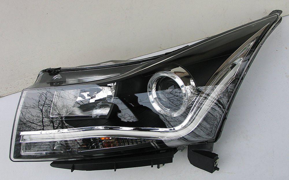 Передние Chevrolet Cruze 2009-2015 альтернативная тюнинг оптика фары тюнинг-оптика передние на Chevrolet Cruze Шевроле Круз