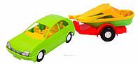 Игрушечная машинка авто-купе с прицепом Тигрес 4820159390021