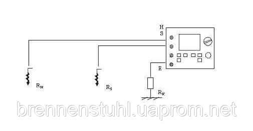 Измерение сопротивления заземления методом 3-х электродов