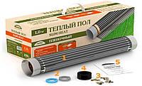 Готовый Теплый пол Slim Heat ПНК-1100 на 5 м кв. Пленочный, готовый комплект - простой монтаж