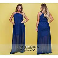 Нарядное вечернее платье Анни (46-54 р-ры)
