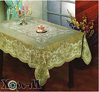 Скатерть Виниловая Хорс-М 110х140 см 001 белая