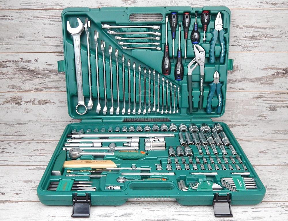 Набор инструментов Jonnesway S04H524128S (128 предметов)