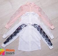 Нарядная школьная блузка Suzie Софи, цвет молочный