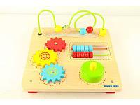 """Детская развивающая игрушка Baby Mix """"Деревянная логика"""" (52584)"""