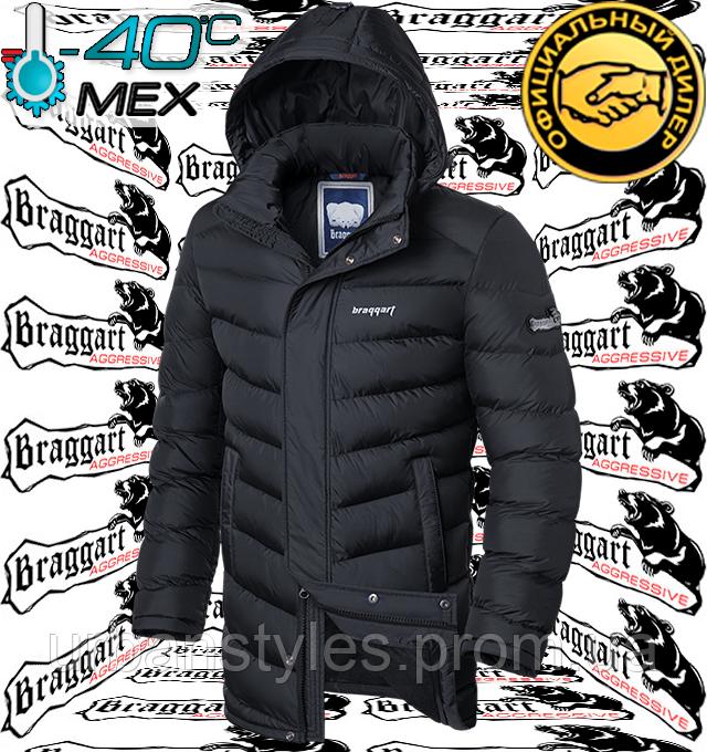 Куртка мужская длинная на меху Braggart Aggressive