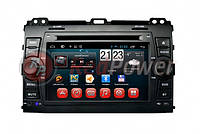Штатная магнитола Toyota Land Cruiser Prado 120 - RedPower Android 21182 4.4 (1024x600)