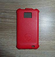 Книжка Samsung I9100 I9105 Gaxaly S2 чехол флип для телефона OZAKI Red