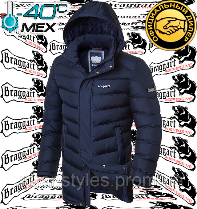 Куртка длинная на меху Braggart Aggressive