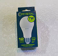 Светодиодная лампа LED лампа CRYSTAL 7W E27 4000K