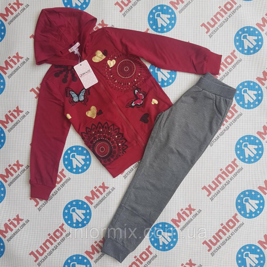 Детский трикотажный костюм для девочки  GRACE