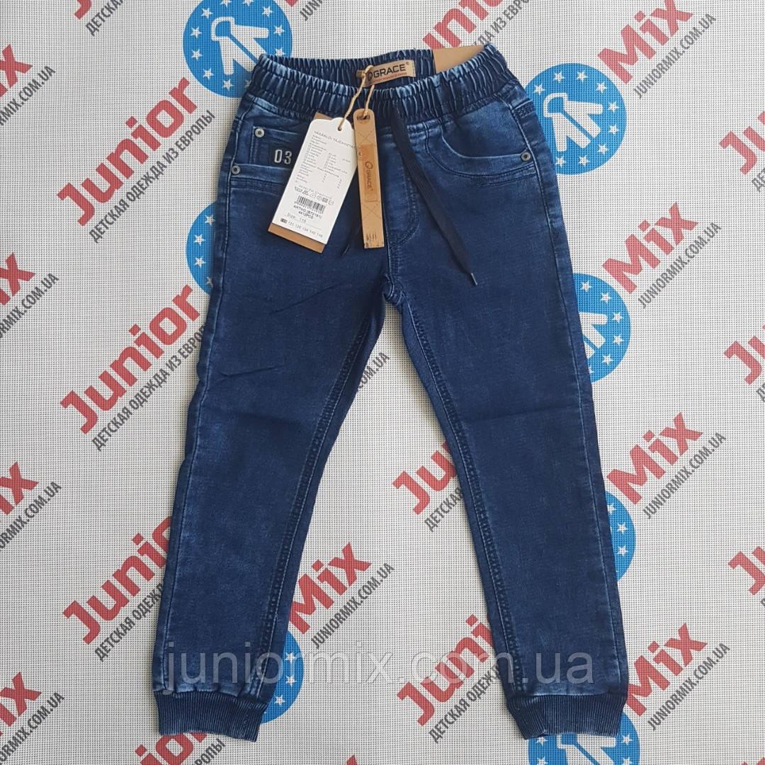 Детские джинсы для мальчика на манжете GRACE