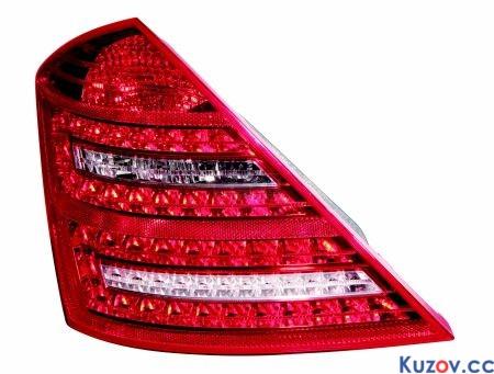 Фонарь задний Mercedes S-Class W221 09-13 правый (Depo) LED 2218201464