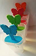 Форма для мороженного из 4-х, пластик.140*55*80., фото 1