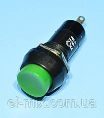 Кнопка с фиксацией PBS-11A зеленая 1-группа ON-OFF PRK0011D