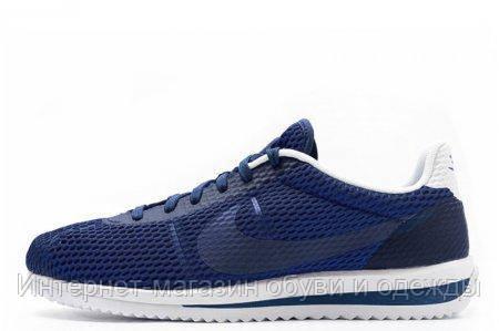 Кроссовки мужские Nike Cortez Ultra BR Blue, (кроссовки найк кортез) черные - Интернет-магазин BAZARANET в Киеве