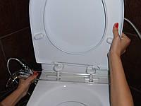 Гигиеническая биде-приставка к унитазу (оргстекло)