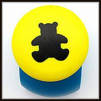 Дырокол фигурный Мишка кнопка 2,5 см
