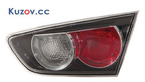 Фонарь задний Mitsubishi Lancer X (10) 07- левый (Depo) внутренний, черный 214-1324L3LD2UE