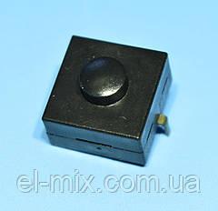 Кнопка з фіксацією 12х12х6,6(корпус)мм YT-1212-112A 2pin OFF-ON, Китай