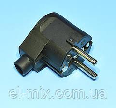 Мережева Вилка євро кутова 16A/250V Elgotech WT20-02 URZ3003