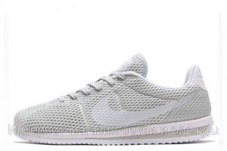 Кроссовки мужские Nike Cortez Ultra BR Grey, (кроссовки найк кортез), серые - Интернет-магазин BAZARANET в Киеве