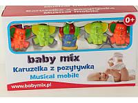 "Мобиль (карусель) на кроватку Baby Mix ""Слоники"" (муз.) (ALE-21300A)"