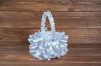 Свадебная корзинка для лепестков