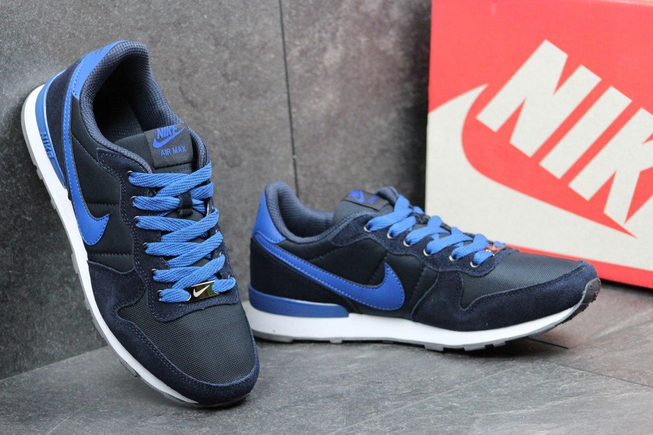 b656d7a31a07 Мужские кроссовки Nike синие с голубым ( реплика ААА+), цена 719 грн ...