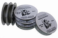 """Поводочный материал """"Охотник"""" темно-зеленый d=0.30mm\15kg, 10m, Карп Клуб"""