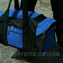 Сумка дорожная Алекс, 30*60*30 см,  синий