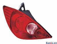 Фонарь задний Nissan Tiida 05-14 хетчбек левый (DEPO) азиат. версия