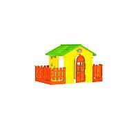 Будиночок Mochtoys  з двома тарасами №016