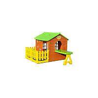 Mochtoys будиночок з тарасою+ столик № 015