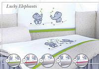 """Дитяча постіль """"Tuttolina""""  Lucky Elephants"""