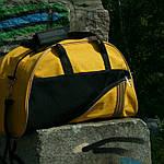 Женская сумка для спорта, 28*43*15 см, желтая, фото 3