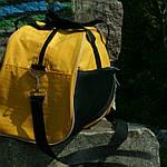 Женская сумка для спорта, 28*43*15 см, желтая, фото 2