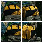 Женская сумка для спорта, 28*43*15 см, желтая, фото 4