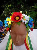 Обруч цветы