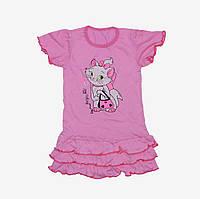 Детское платье с рюшами и узором (PD6)