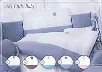 """Набір дитячої постелі бавовна """"Tuttolina"""" My Little Baby"""