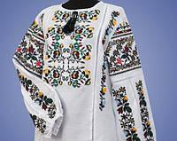 Женская вышиванка в этно стиле