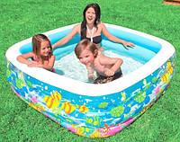 Детский надувной бассейн INTEX 57471 (159*159*50 см) Аквариум