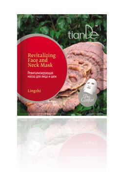 Ревитализирующая маска для лица и шеи «Линчжи», серия Pro Comfort TianDe (ТианДе)