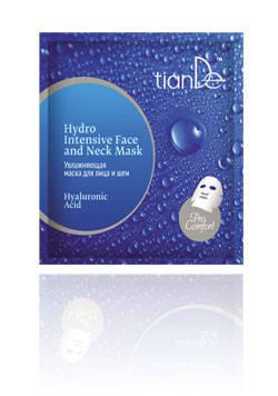 Увлажняющая маска для лица и шеи «Гиалуроновая кислота», серия Pro Comfort TianDe (ТианДе), фото 2