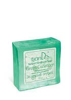 Натуральное мыло ручной работы «Зеленый огурец» TianDe (ТианДе)
