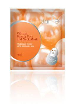 Придающая сияние маска для лица и шеи «Жемчуг» TianDe (ТианДе), фото 2