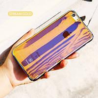 "Пластиковая накладка Baseus Glass Case для Apple iPhone 6/6s (4.7"") Stream Gold"