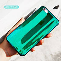 "Пластиковая накладка Baseus Glass Case для Apple iPhone 6/6s (4.7"") Violet-Blue"