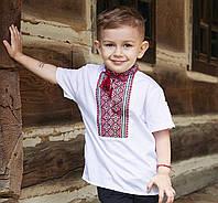Вишиванки для хлопчиків короткий рукав(ручна вишивка, 1-14 років)
